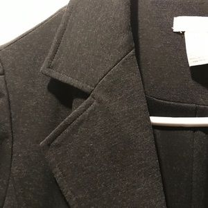 Chicos Charcoal Gray Jacket or Blazer